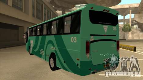 Holiday Bus 03 для GTA San Andreas вид сзади