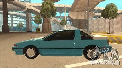Nissan EXA L.A. Version для GTA San Andreas вид сбоку