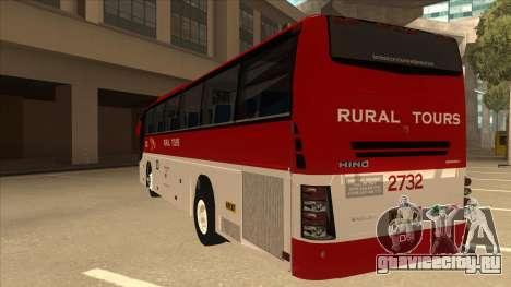 Rural Tours 2732 для GTA San Andreas вид сзади