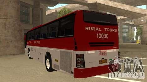Rural Tours 10030 для GTA San Andreas вид сзади