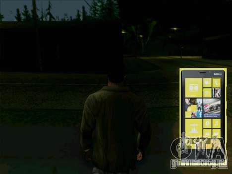 Интерактивный телефон для GTA San Andreas