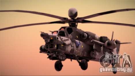 Mi-28N Havoc для GTA San Andreas вид справа