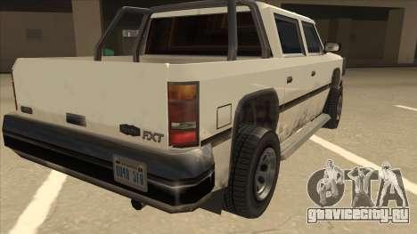 Declasse Rancher FXT для GTA San Andreas вид справа