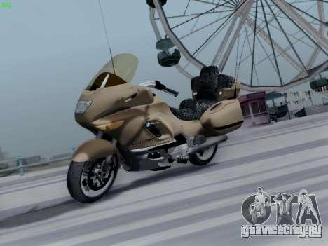 BMW K1200LT для GTA San Andreas вид снизу