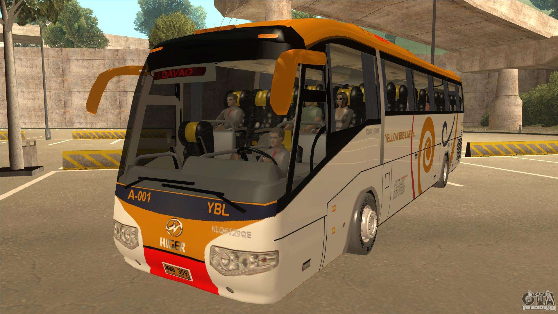 GTA Mods: Terminal Bus San Fierro GTA San Andreas