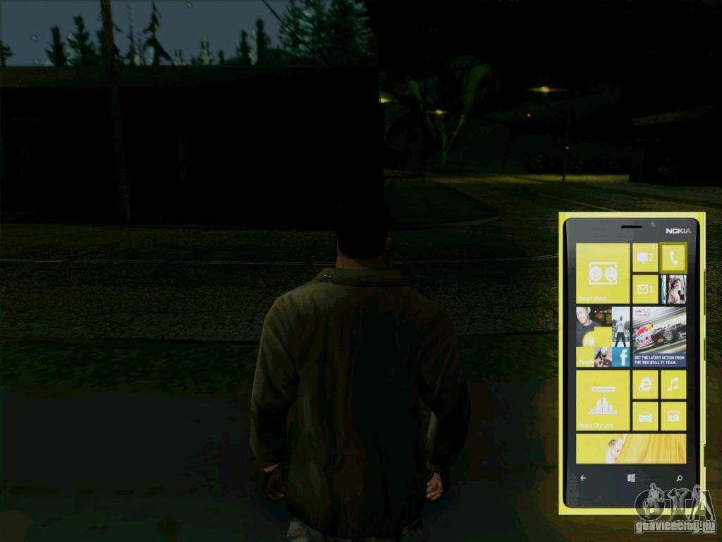 Gta san andreas franklin interactive phone by rakesh_nama mod.
