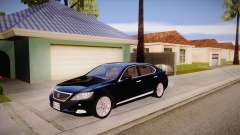 Lexus LS 600h L для GTA San Andreas
