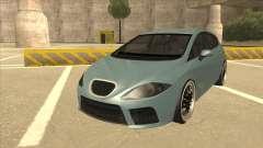 Seat Leon Clean Tuning для GTA San Andreas
