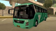 Holiday Bus 03 для GTA San Andreas