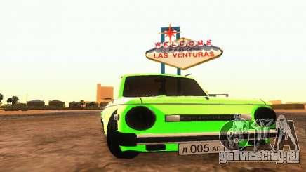 ЗАЗ 968 Кабриолет Тюнинг для GTA San Andreas