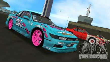 Nissan Silvia S13 Drift Works для GTA Vice City
