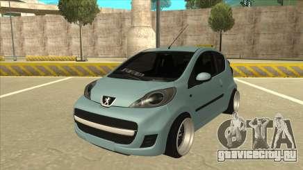 Peugeot 106 EuroLook для GTA San Andreas