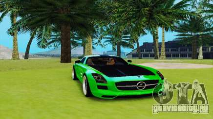 Mercedes SLS AMG 2010 Hamann v2.0 для GTA San Andreas