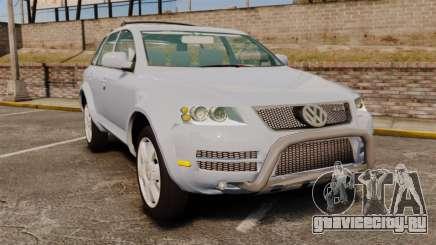 Volkswagen Touareg 2002 для GTA 4