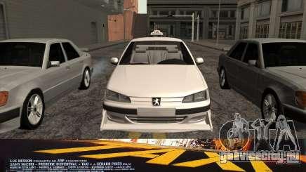 Peugeot 406 Taxi v2 для GTA San Andreas