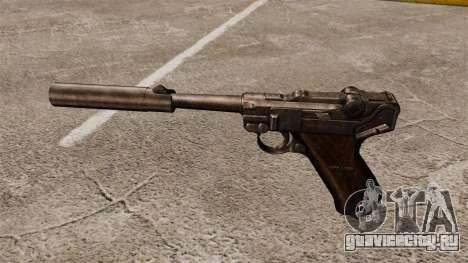 Пистолет Parabellum v2 для GTA 4 третий скриншот