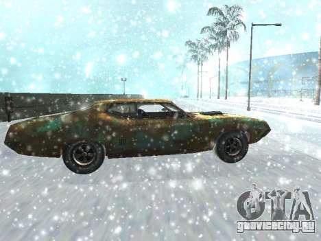 Ford Torino Rusty для GTA San Andreas вид слева