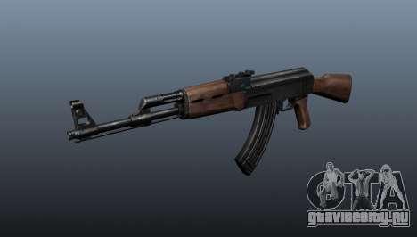 Автомат АК-47 v3 для GTA 4