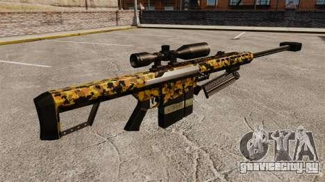 Снайперская винтовка Barrett M82 v12 для GTA 4 второй скриншот
