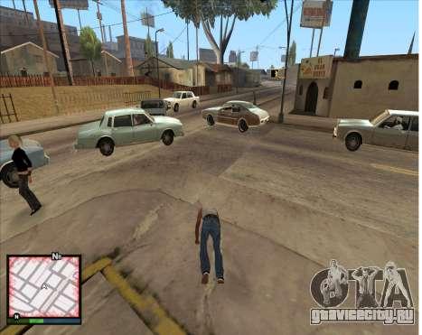 GTA 5 HUD для GTA San Andreas третий скриншот