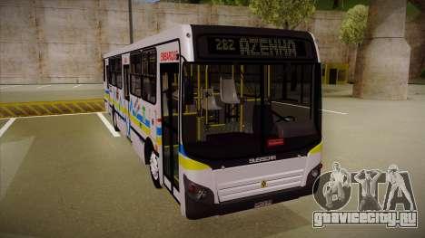 Busscar Urbanuss Ecoss MB OF 1722 M Porto Alegre для GTA San Andreas вид слева