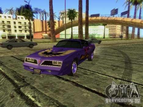 Pontiac Firebird Overhaulin для GTA San Andreas