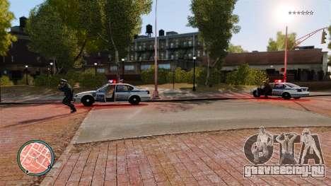Без полицейских пунктиров для GTA 4 третий скриншот