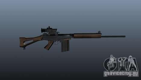 Снайперская винтовка FN FAL для GTA 4 третий скриншот