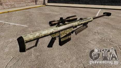 Снайперская винтовка Barrett M82 v8 для GTA 4 второй скриншот