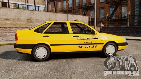 Fiat Tempra SX.A Turkish Taxi для GTA 4 вид слева