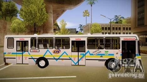 Busscar Urbanuss Ecoss MB OF 1722 M Porto Alegre для GTA San Andreas вид сзади слева