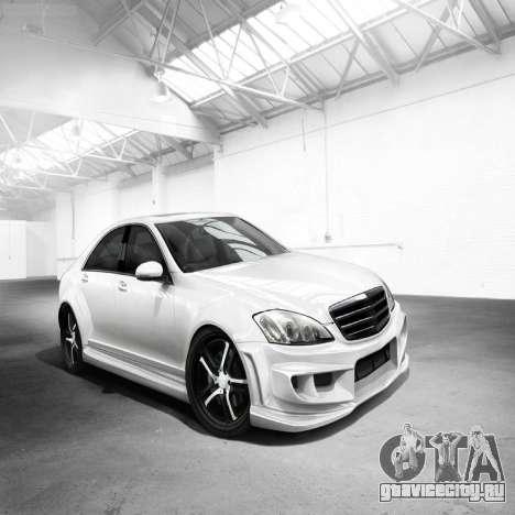 Загрузочные экраны Mercedes-Benz для GTA 4 седьмой скриншот