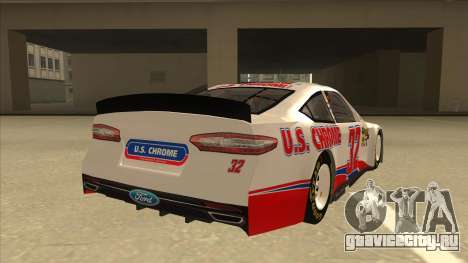 Ford Fusion NASCAR No. 32 U.S. Chrome для GTA San Andreas вид справа