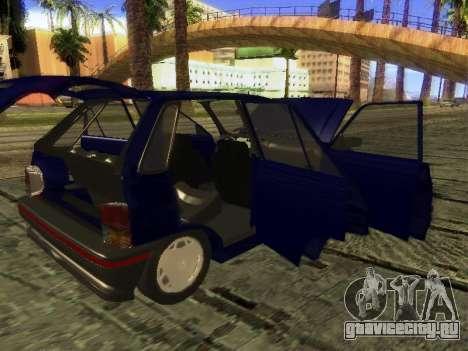 Kia Pride Hatchback для GTA San Andreas вид сверху