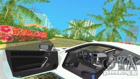 Subaru BRZ Type 4 для GTA Vice City вид сбоку