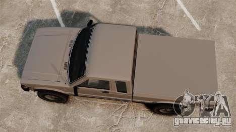 Karin Rebel 4x4 для GTA 4 вид справа