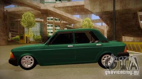 Fiat 128 Super Europa для GTA San Andreas вид сзади слева