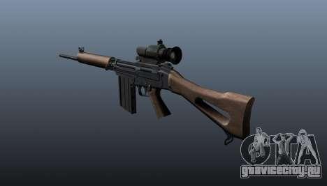 Снайперская винтовка FN FAL для GTA 4 второй скриншот
