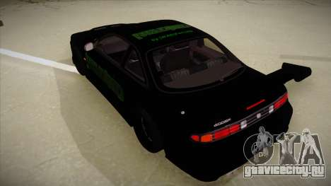 Nissan s14 200sx [WAD]HD для GTA San Andreas вид сзади