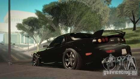 Mazda RX-7 STANCENATION для GTA San Andreas вид сбоку