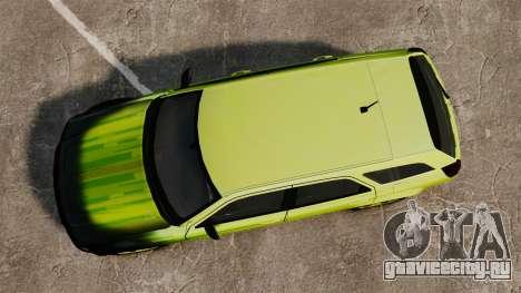 Dodge Magnum West Coast Customs для GTA 4 вид справа