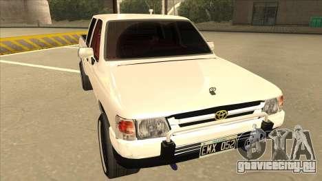 Toyota Hilux 2004 для GTA San Andreas вид слева
