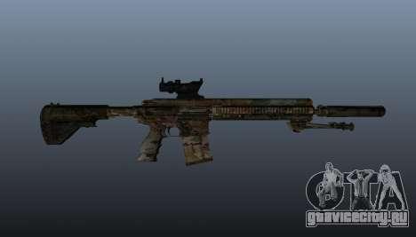 Автоматическая винтовка HK417 v2 для GTA 4