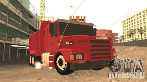 Scania 112HW для GTA San Andreas