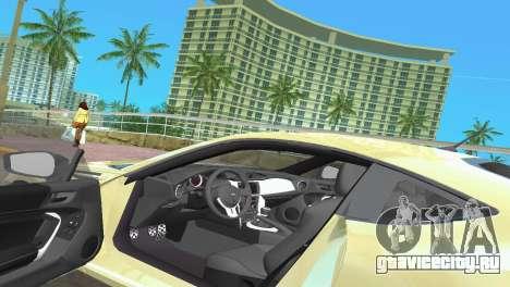 Subaru BRZ Type 1 для GTA Vice City вид снизу