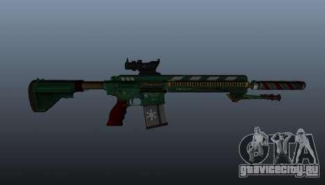 Автоматическая винтовка HK417 v3 для GTA 4 третий скриншот