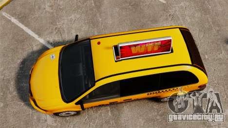 Dodge Grand Caravan 2005 Taxi LC для GTA 4 вид справа