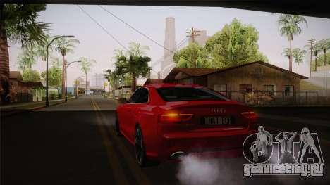 Audi RS5 2012 для GTA San Andreas вид сбоку