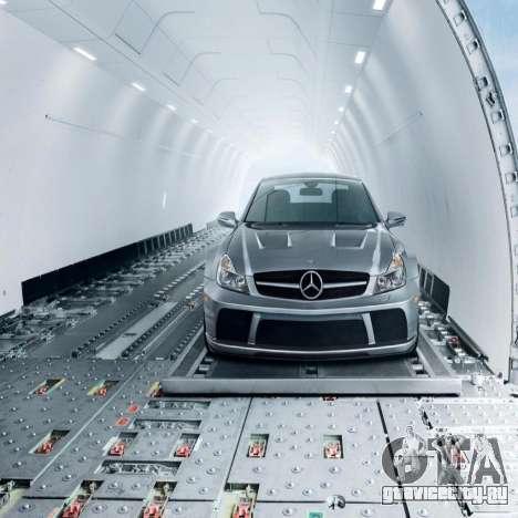 Загрузочные экраны Mercedes-Benz для GTA 4 третий скриншот