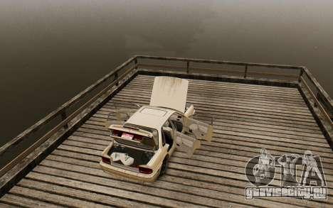 Mitsubishi Galant V2 для GTA 4 вид сзади